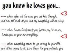 Funny i love you sayings for him