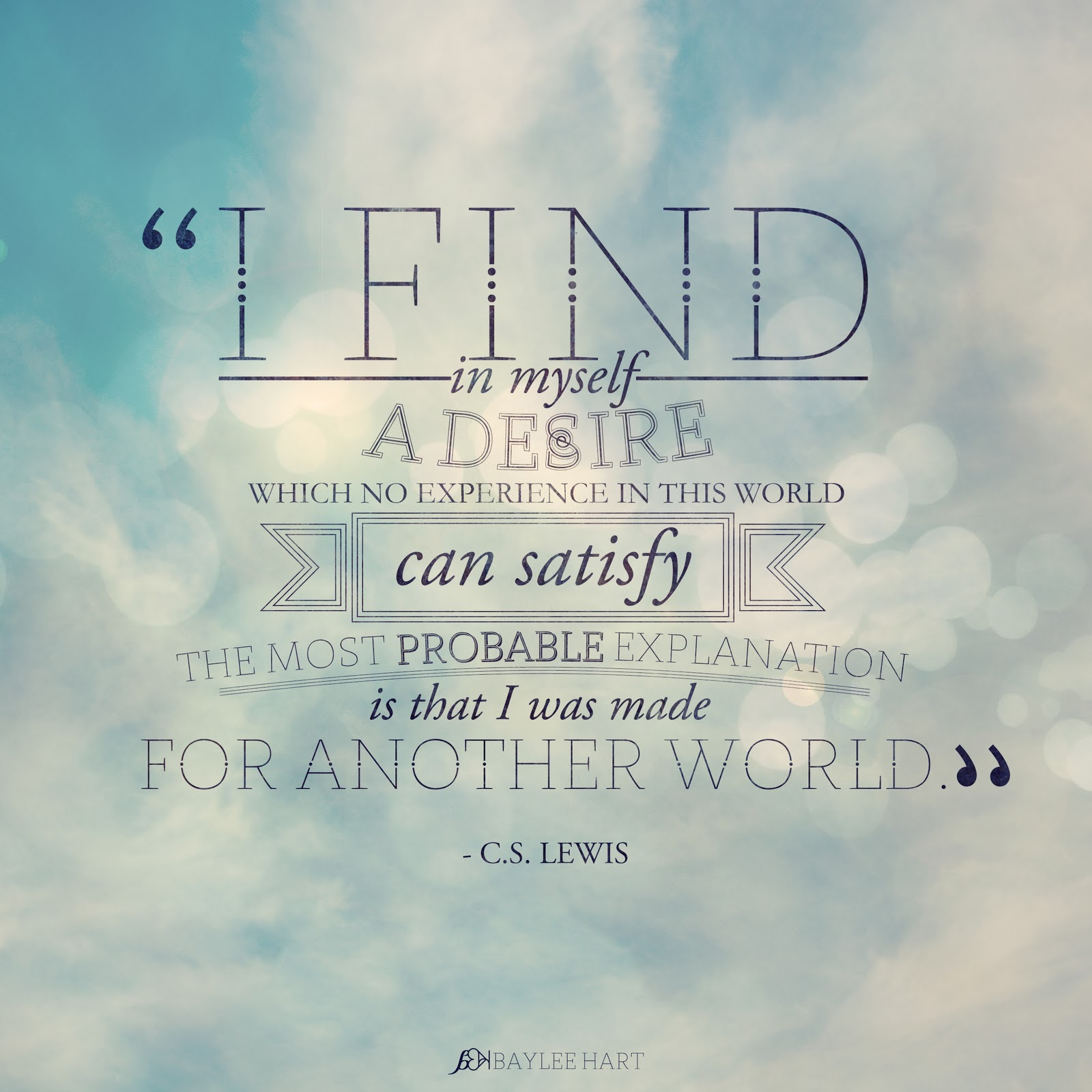 Inspirational Quotes From: Cs Lewis Inspirational Quotes. QuotesGram