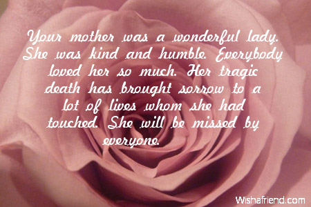 Mother Passed Away Anniversary Quotes Quotesgram