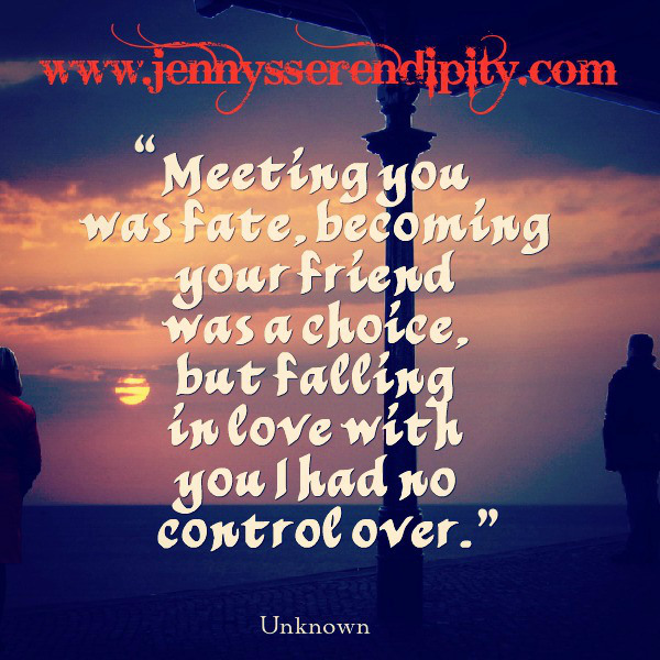 Love Each Other When Two Souls: Meeting You Was Fate Quotes. QuotesGram