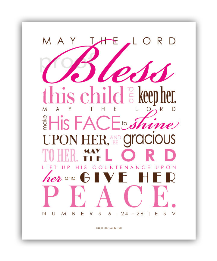 baby blessing quotes bible quotesgram