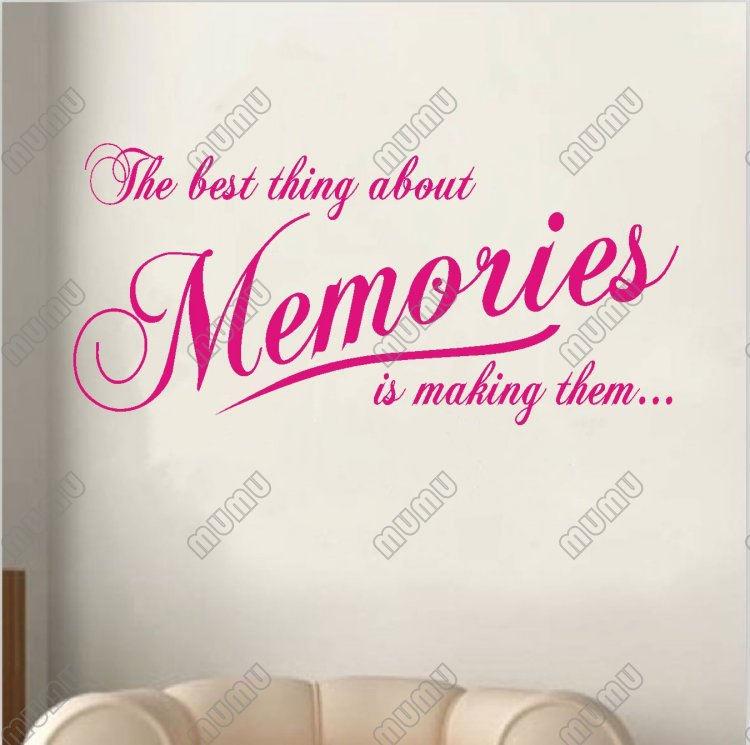Quotes About Making Memories. QuotesGram