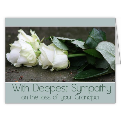 sympathy quotes loss of grandfather quotesgram