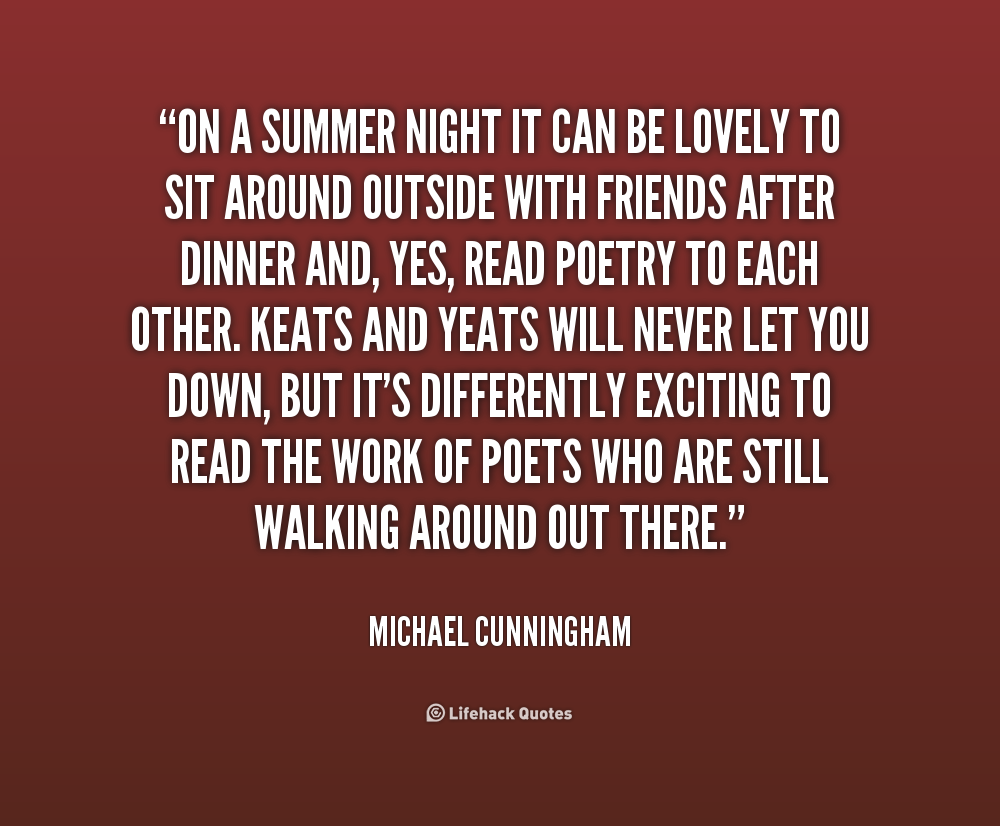 Quotes About Summer Nights. QuotesGram