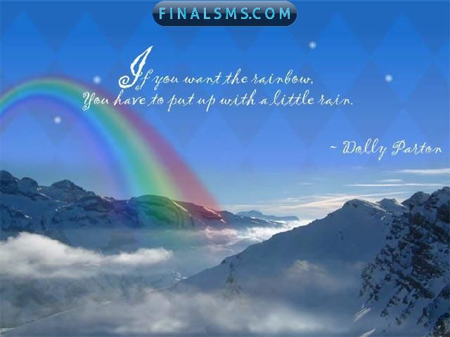 Famous Quotes On Rainbows. QuotesGram