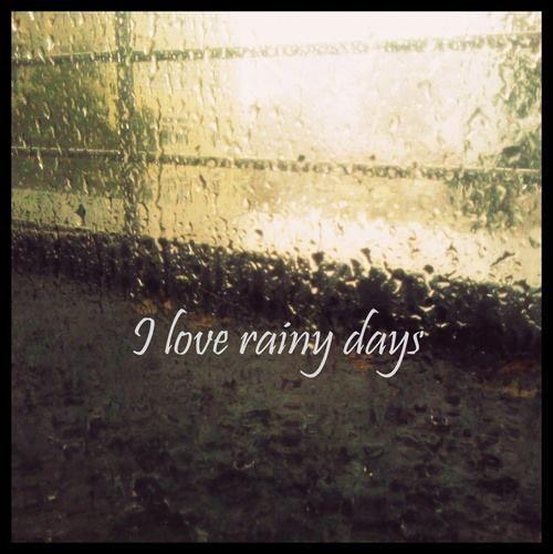 Rainy Day Quotes Positive: I Love Rainy Days Quotes. QuotesGram