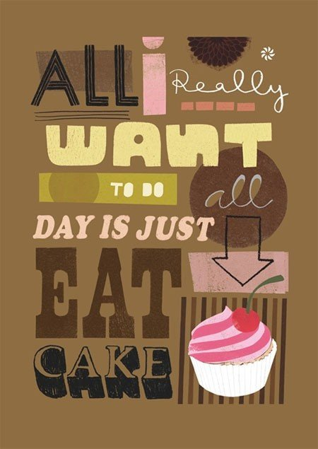 Quotes On Eating Cake Quotesgram