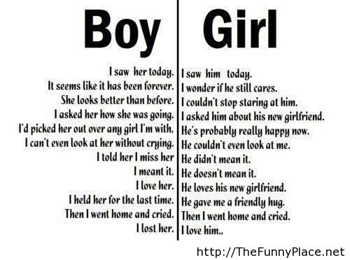 Boy And Girl Funny Quotes. QuotesGram