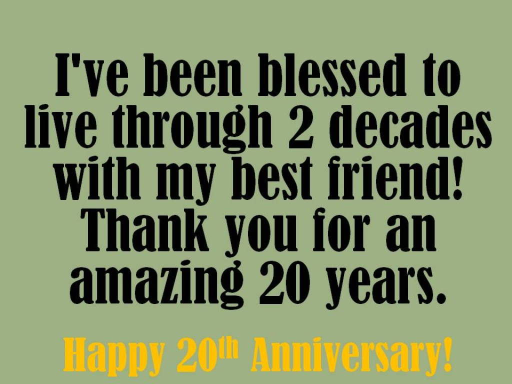 Anniversary Quotes: 20th Year Wedding Anniversary Quotes. QuotesGram