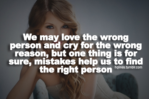 Taylor Swift Quotes About Love Quotesgram
