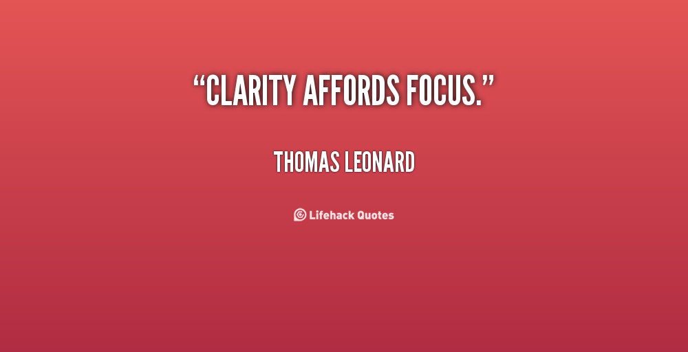 Clarity relationships quotes