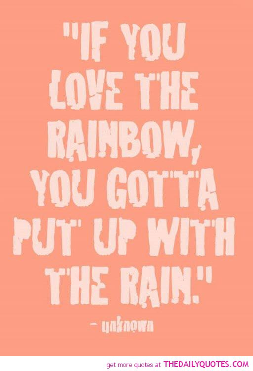 Quotes About Love And Rainbows. QuotesGram