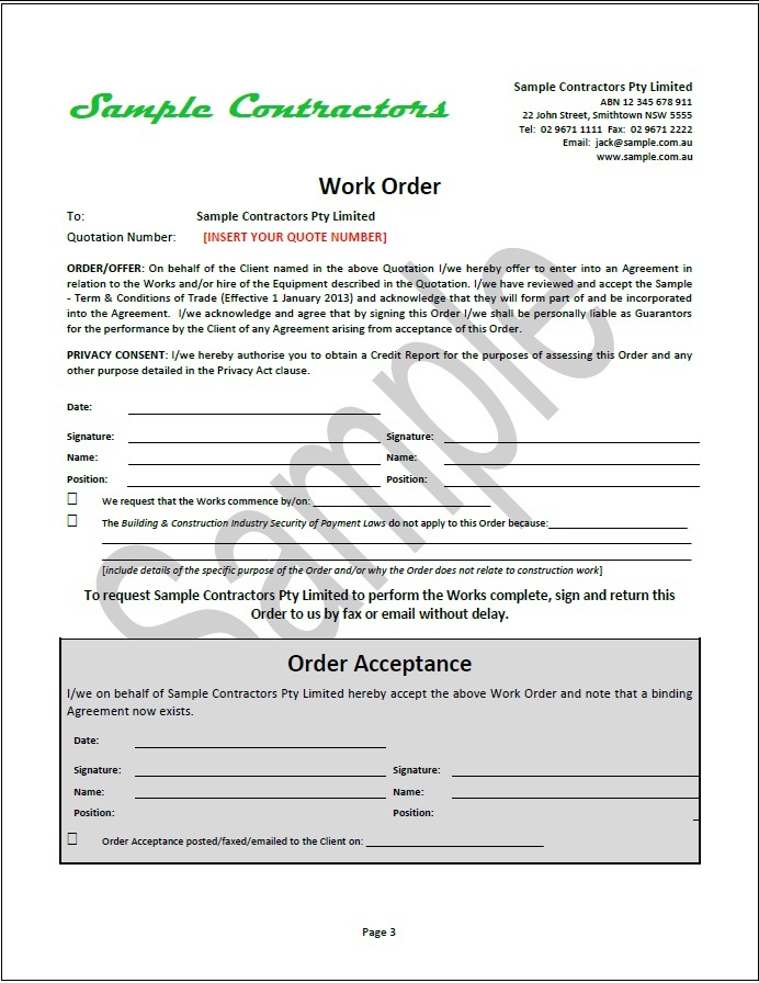 event management invoice template quotation for work organizer