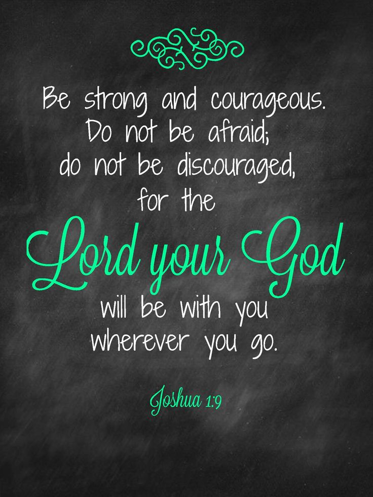 Inspirational Quotes On Pinterest: Be Strong Bible Quotes. QuotesGram