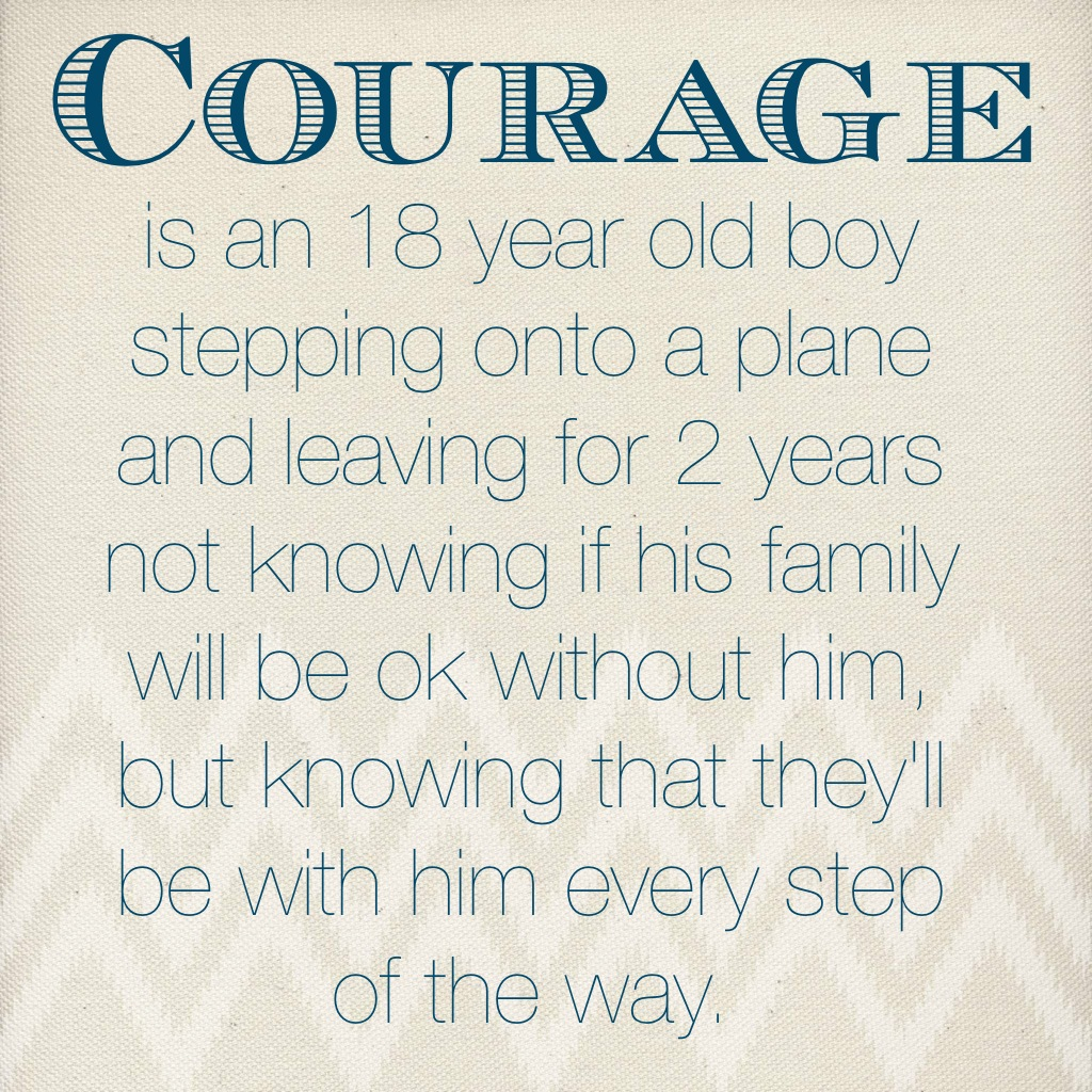 Missionary Work Quotes Lds: Lds Quotes On Courage. QuotesGram