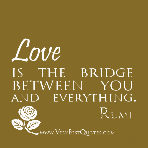 Quotes About Love: Quotes About Love By Rumi. QuotesGram