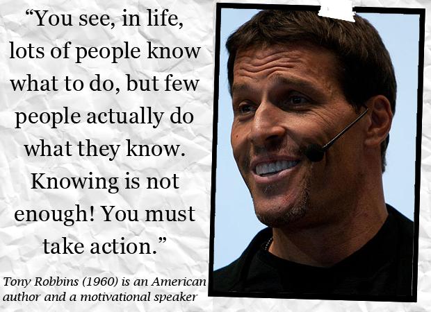 Tony Robinson Motivational Speaker Quotes. QuotesGram