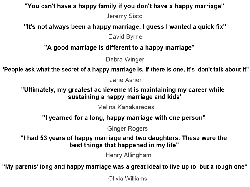 essay on marriage life Get your quality homework help now and stand outour professional writers are committed to excellence we have trained the best scholars in different fields of.