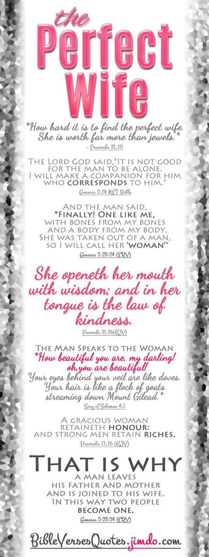 Biblical Wife Quotes. QuotesGram
