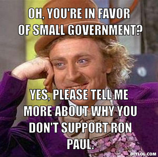 Yes Please Funny Meme : Ron paul meme funny quotes quotesgram