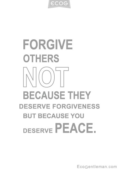 Quotes About Forgiveness And Peace. QuotesGram
