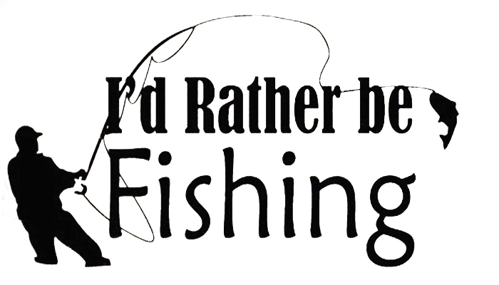 Rather be fishing quotes quotesgram for Funny fishing quotes