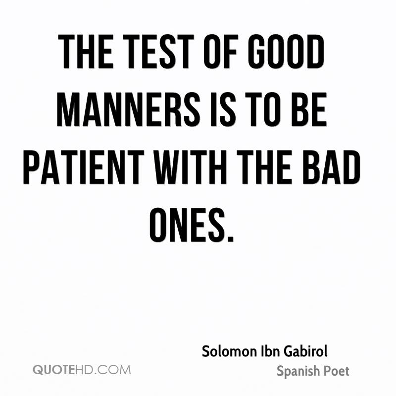 short essay on importance of good manners