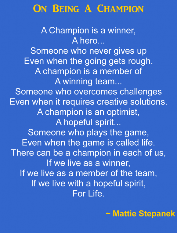 Sports Quotes About Champions. QuotesGram