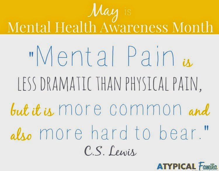 Quotes About Mental Health Awareness. QuotesGram