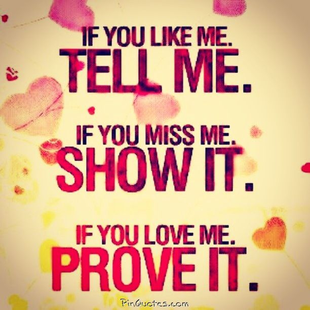 how to prove that u love someone