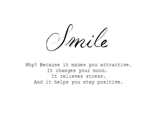 quotes about always smiling quotesgram