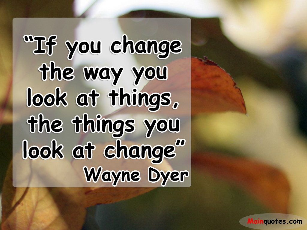 Famous Quotes By Wayne Dyer. QuotesGram