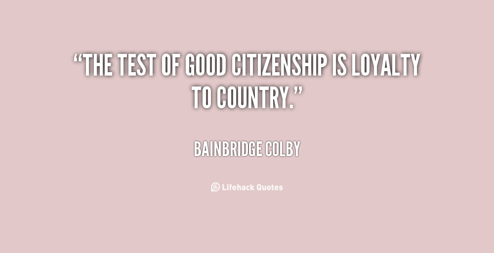Citizenship Quotes By Famous People. QuotesGram