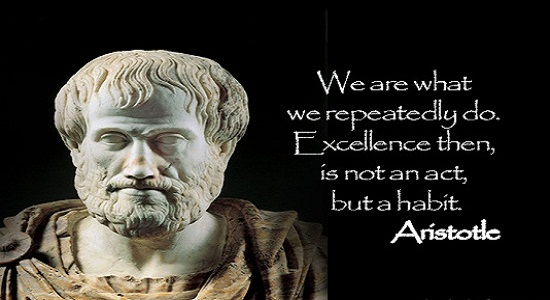 Aristotle Quote About Practice: Aristotle Virtue Quotes. QuotesGram