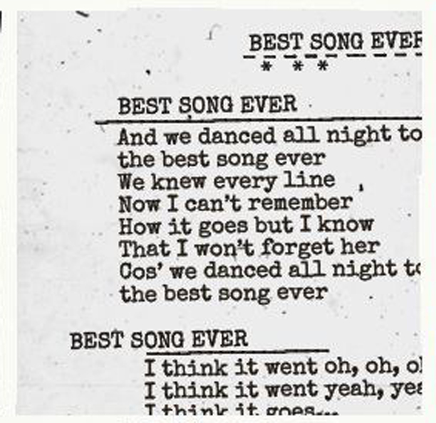 Greatest Song Lyrics Quotes: Best Quotes From Song Lyrics. QuotesGram