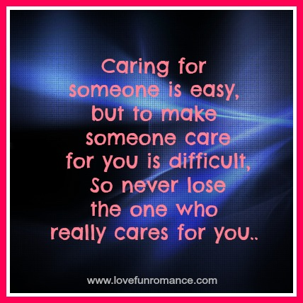quotes about caring about someone quotesgram