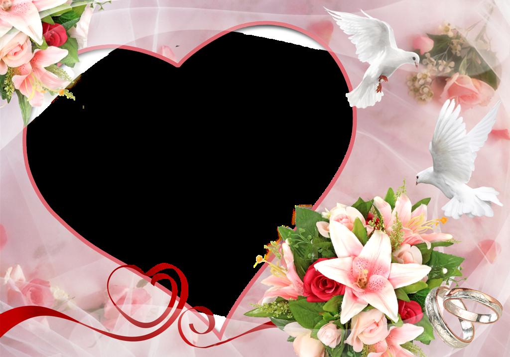 Открытка к дню свадьбы шаблон для фотошоп