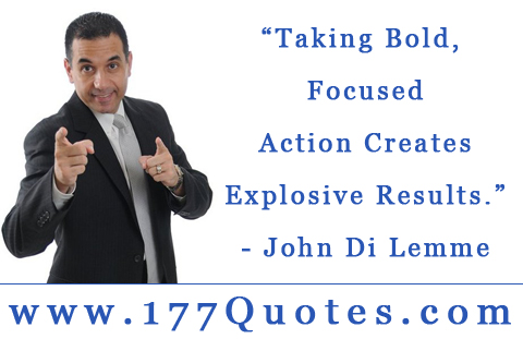 Bold Action Quotes Quotesgram