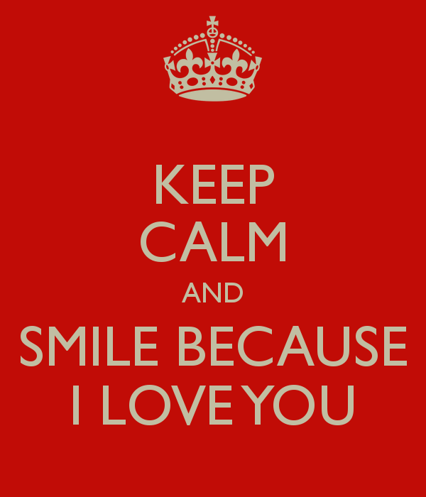 I Love You Quotes: Smile Because I Love You Quotes. QuotesGram