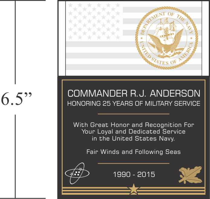 Pics Photos - Military Retirement Plaque Wording