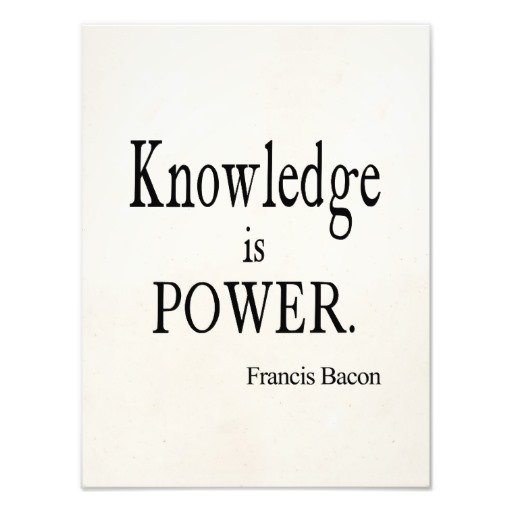 essay on proverb knowledge is power