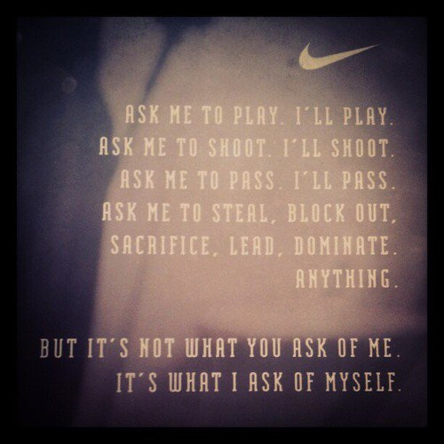 Motivational Quotes For Sports Teams: Nike Quotes About Sports. QuotesGram