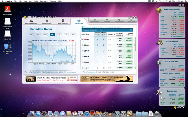 Forex quotes desktop gadgets