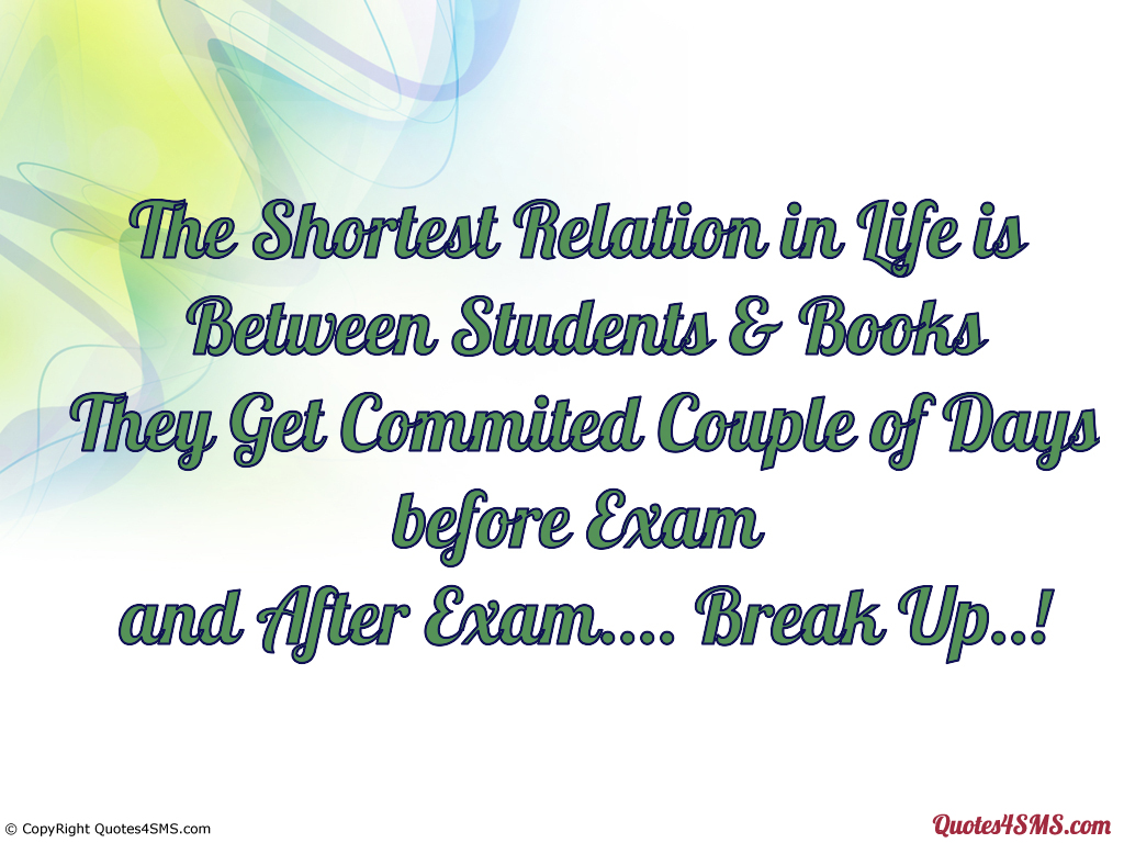 Exam Quotes For Students Quotesgram