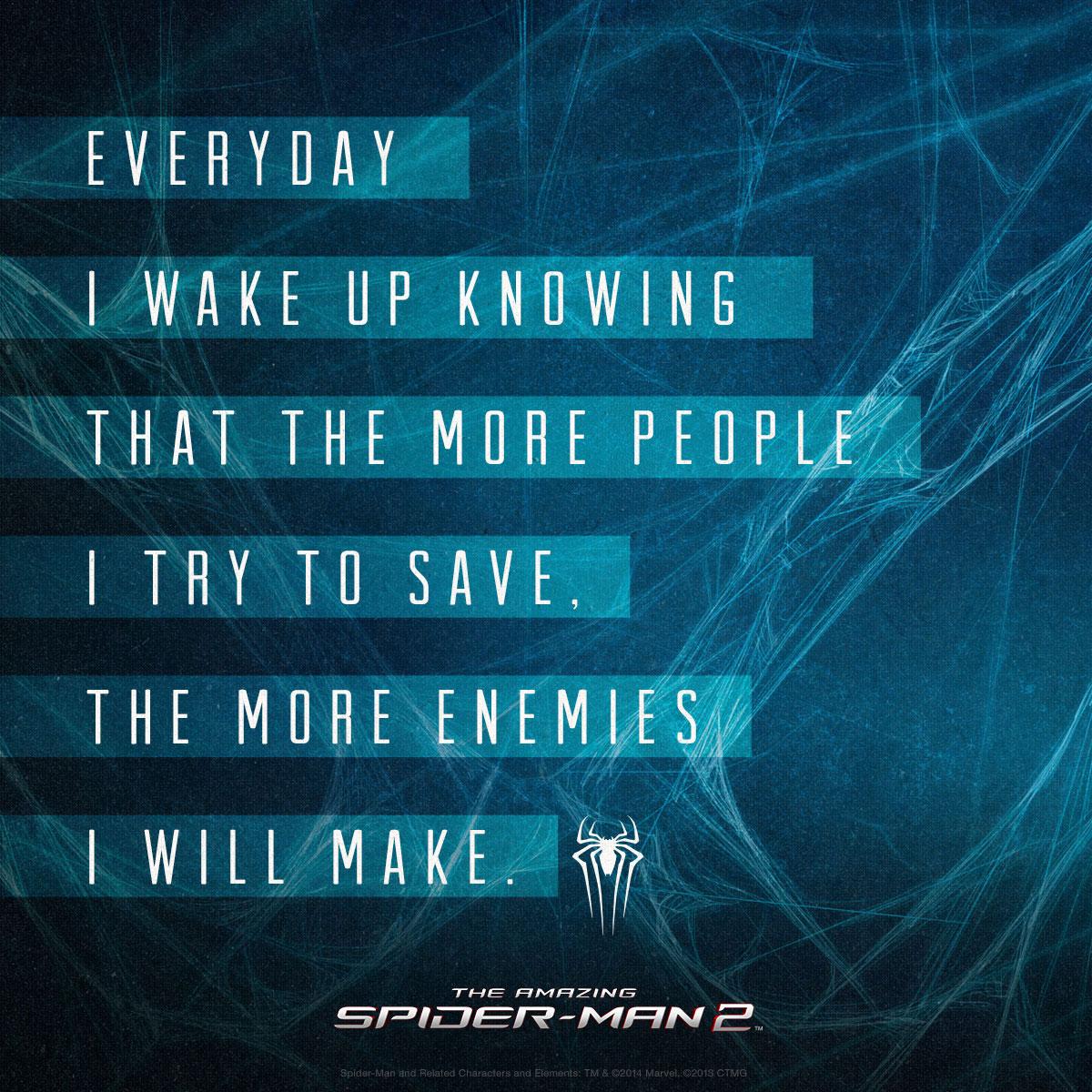 Amazing Inspirational Quotes: Spider Man Inspirational Quotes. QuotesGram