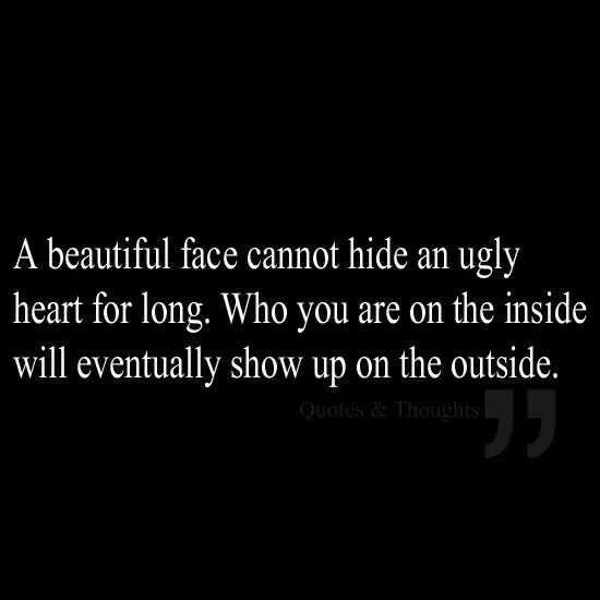 Ugly Women Quotes: Ugly Soul Quotes. QuotesGram