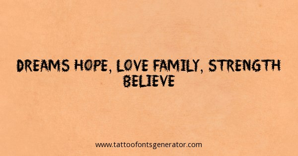 Tattoos For Strength Family Quotes. QuotesGram