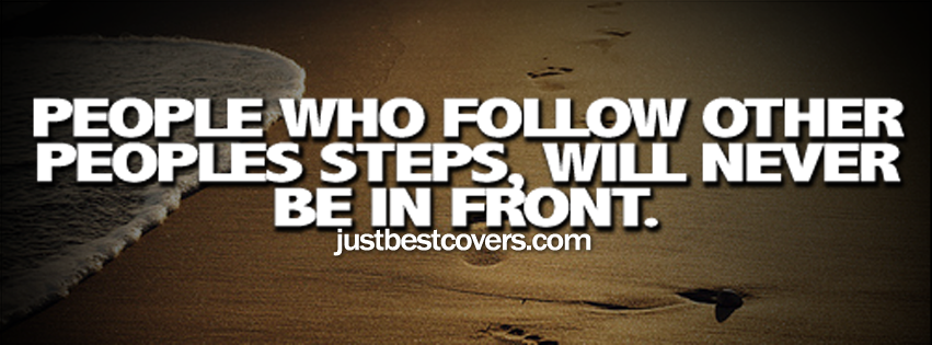 Quotes About Following Others. QuotesGram