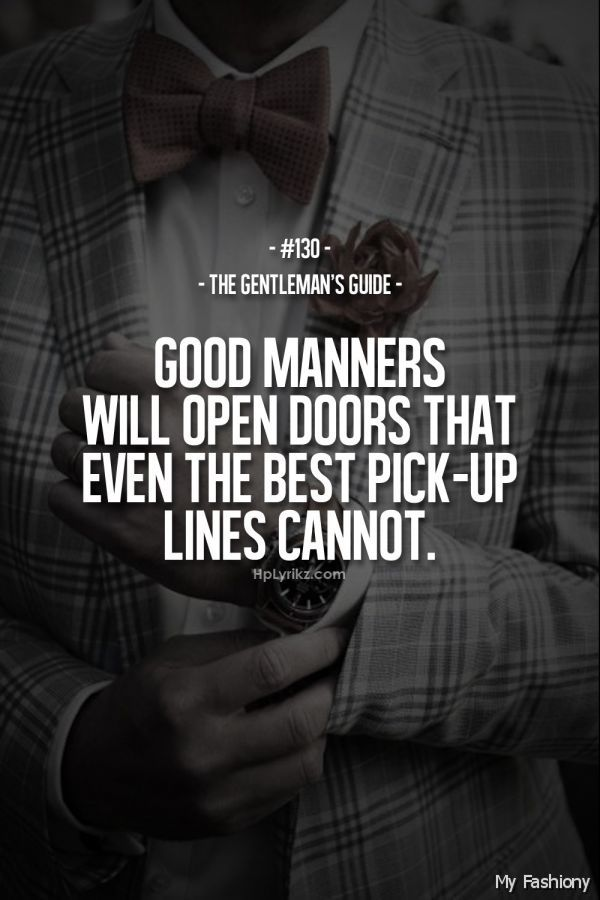 a real gentleman quotes - photo #27