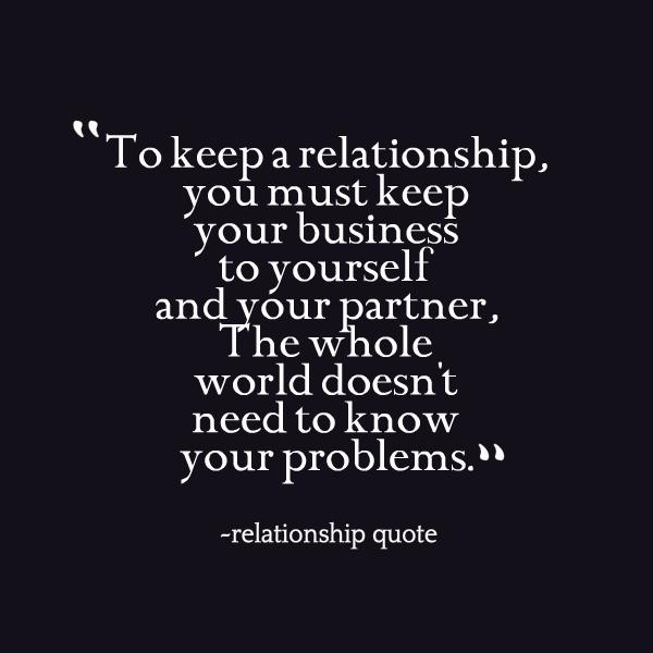 private relationship quotes quotesgram